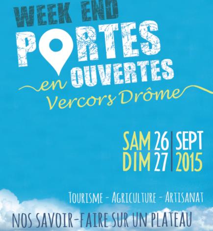 Le Vercors Drômois ouvre ses portes les 26/27 Sept 2015