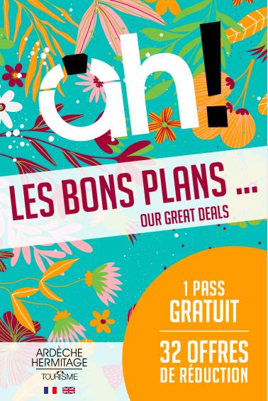 Votre passeport visites, activités, gourmandises en Ardèche Hermitage