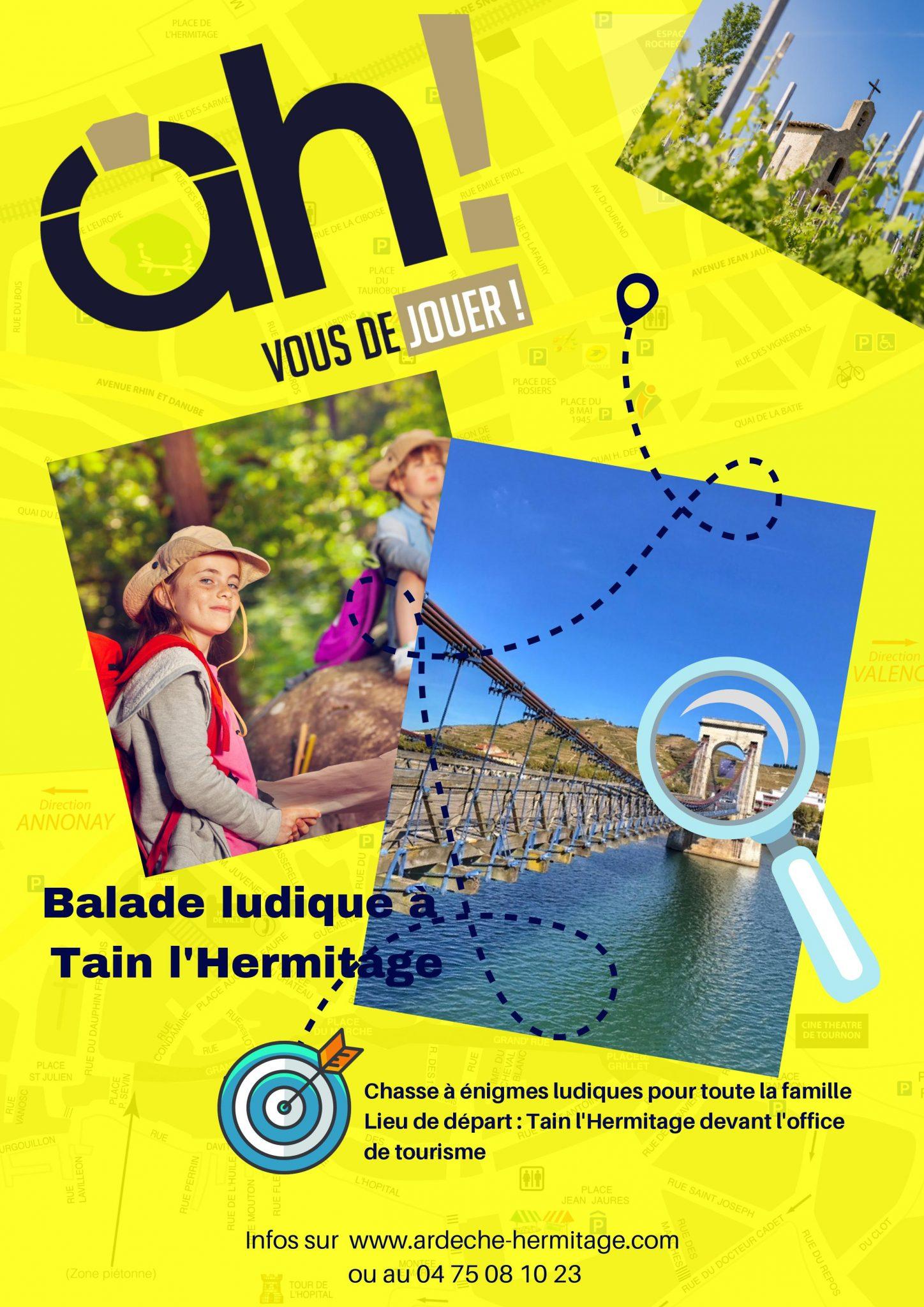 Des chasses aux trésors en Ardèche Hermitage