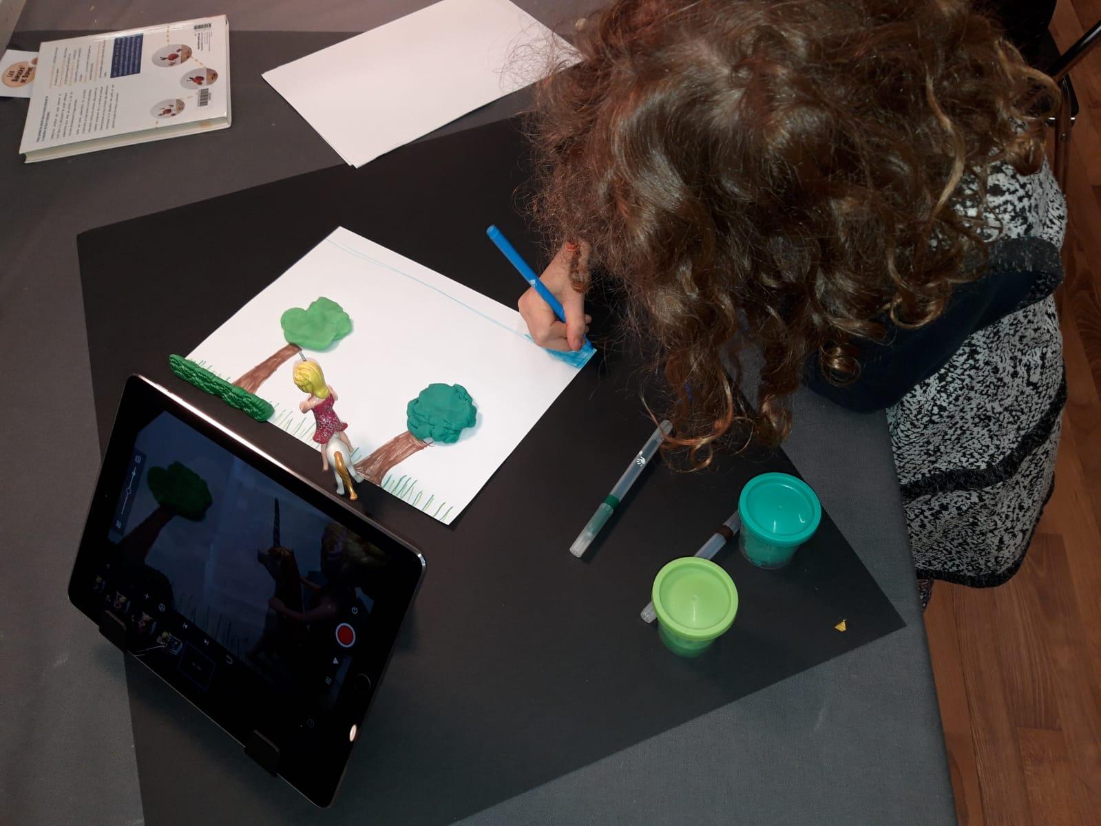 Ateliers de découverte ou de pratique du cinéma d'animation