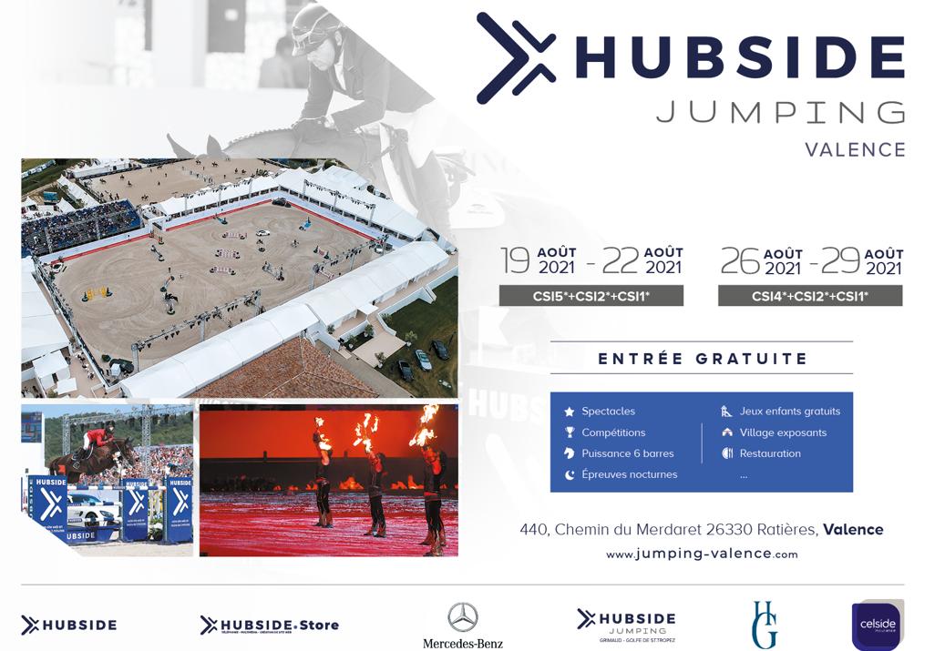 L'Hubside Jumping de Valence est de retour en Août 2021 !