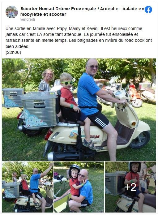 sortie scooter avec ses grands parents